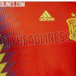 Filtran la posible camiseta de la selección española para el Mundial de Rusia