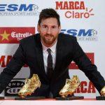 """Leo Messi recibe su cuarta Bota de Oro: """"Cada día disfruto más"""""""