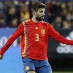 "Piqué: ""Me siento orgulloso de jugar con España"""