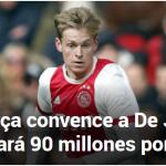 Lo dan por hecho: De Jong se va al Barça por 90 millones